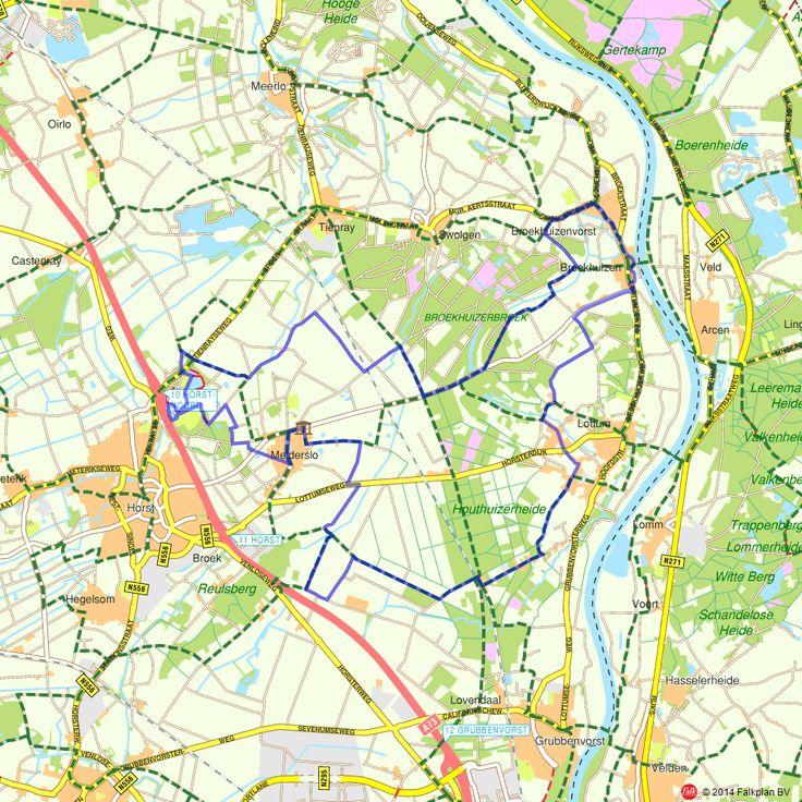 Fietsroute: Blauwe bessenroute  (http://www.route.nl/fietsroutes/171230/Blauwe-bessenroute/)