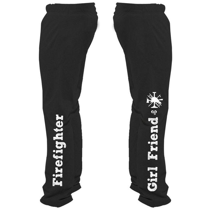 Firefighter Girl Friend Sweatpants