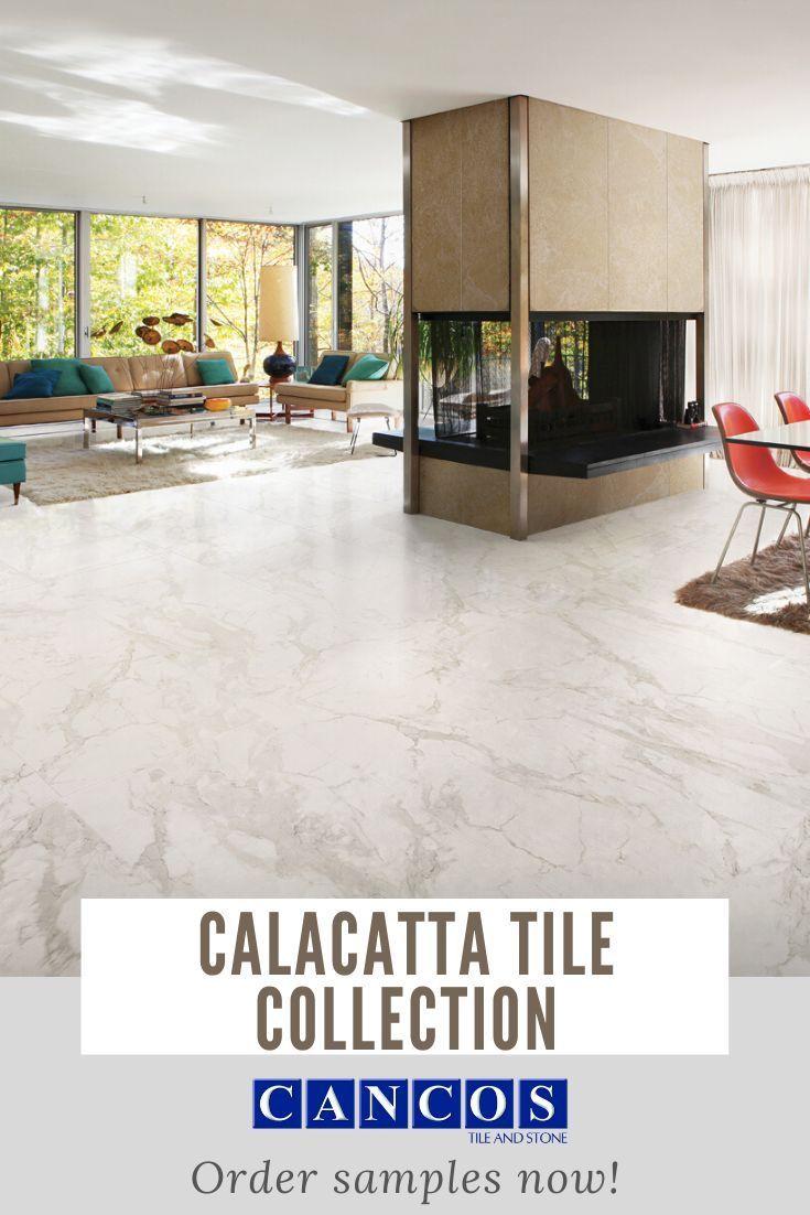 Cancos Tile Of Farmington New York Calacatta Tile Collection In 2020 Marble Living Room Floor Calacatta Tile Tile Floor Living Room #stone #floors #in #living #room