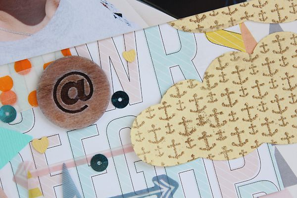 Heat embossing with Paper Bakery Stamps