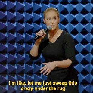 On dating someone new: | 21 Times Amy Schumer Perfectly Described Being A Woman