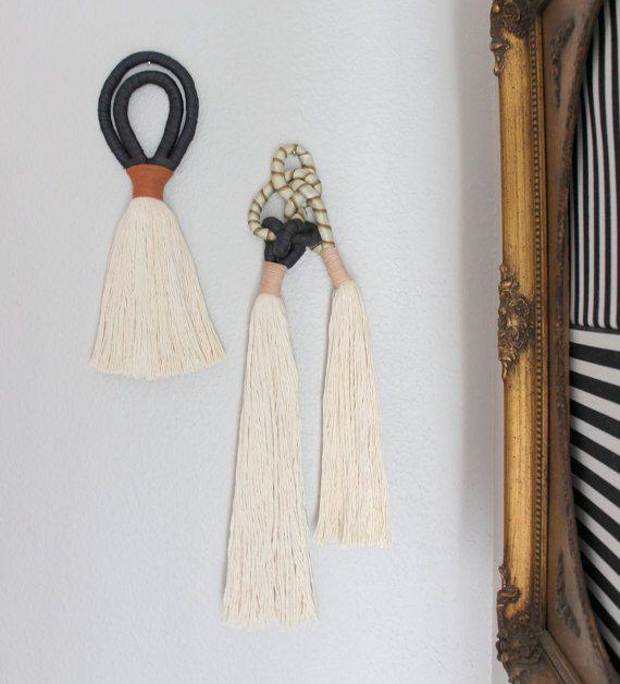 Borla colgante borla de cuerda de algodón borla de seda por HIMOART
