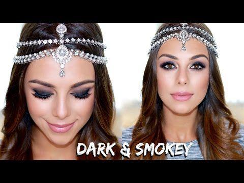 Dark & Smokey Arabic Inspired Look | Annie Jaffrey - YouTube