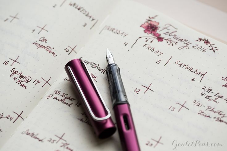Bullet Journaling: Top 10 Fountain Pens and Ink (Lamy Al-Star)