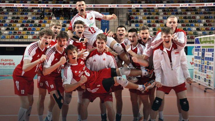 Polscy siatkarze mistrzami Europy kadetów