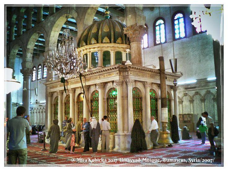 #umayyadmosque #umayyad #mosque #olddamascus #damascus #syria #tomb #history #heritage #architecture #art #statue #sculpture #mosaic #picture #myphoto #travel #photography #photos #photo #2007
