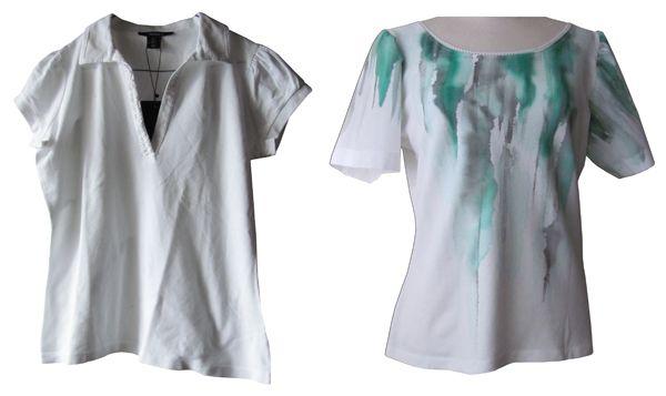 T-shirt customization I made 2011