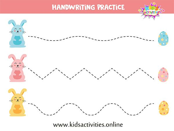 Tracing Lines Worksheets For Preschool Free Printable In 2020