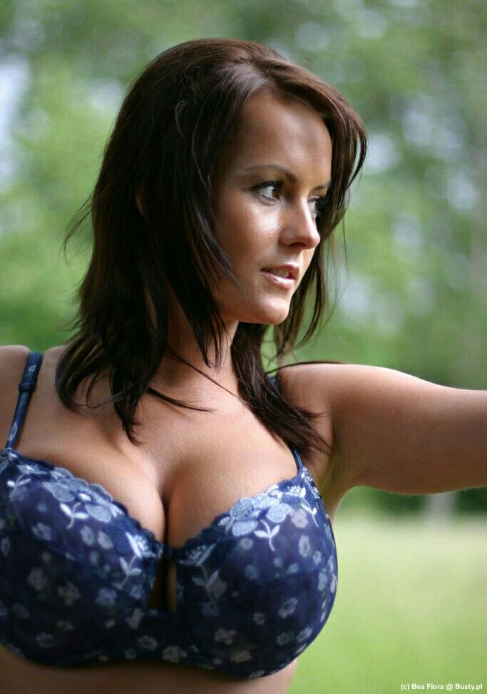 Bea Flora - dark blue floral underwear - close up