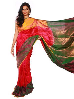 Uppada Saree plain design  #Uppada #Sarees