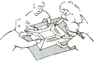 cooperatief leren: Placemat