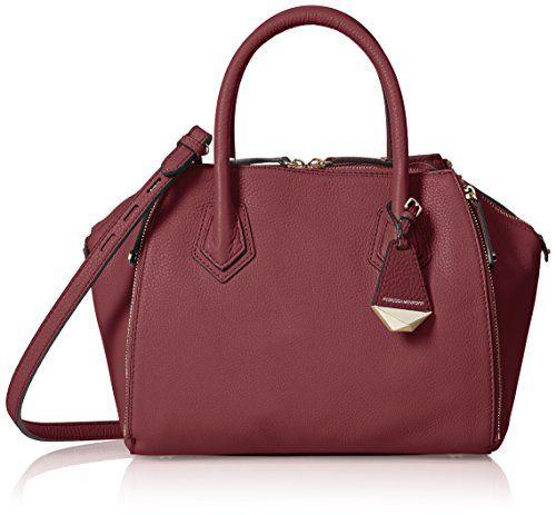Rebecca Minkoff Mini Perry Satchel Top Handle Bag Port One Size Pretty Satchels Pinterest Bags And