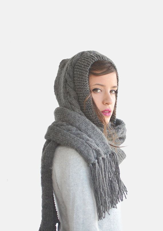 Hey, I found this really awesome Etsy listing at https://www.etsy.com/listing/217743607/extra-long-hood-scarf-pixie-hooded-scarf