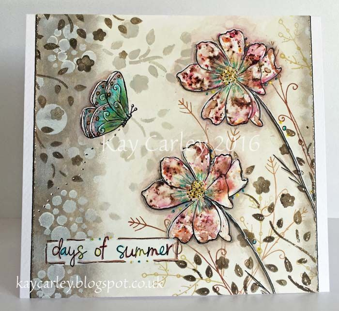 Kay's Crafty Corner: Infusions Class at The Craft Barn