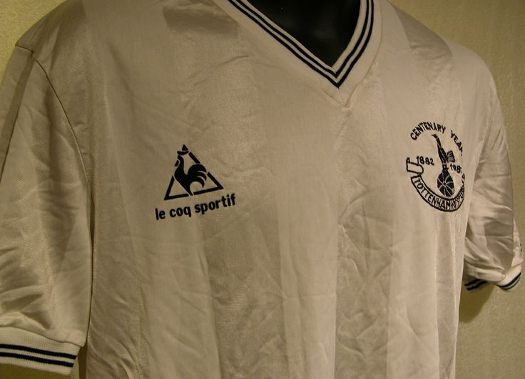 Rare Le Coq Sportif Spurs Centenary shirt (1882-1982)