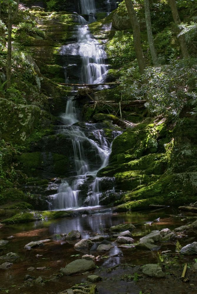 Buttermilk Falls in Stokes State Forest, North Western New Jersey.