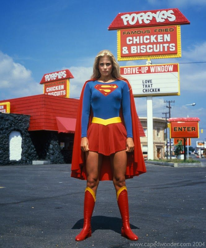 Helen Slater as Supergirl, 1984