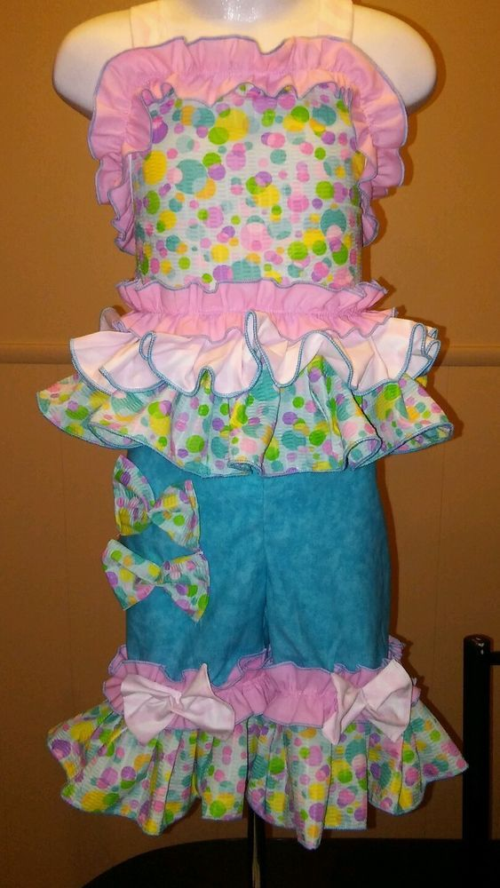 National Pageant Easter Spring Casual Wear OOC 18 month-3t #Handmade #DressyEverydayHoliday