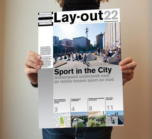 In Lay-out #22 onderzoekt Textoer de mogelijkheid om het aanbod en de integratie van sportvoorzieningen in de stad te versterken.