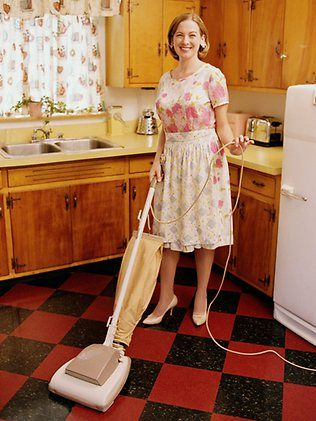 Of course I vacuum my tile floors. Who doesn't?