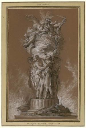 [Projet de pendule] | Centre de documentation des musées - Les Arts Décoratifs