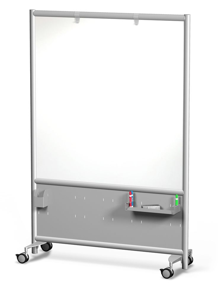 Frontage Mobile Whiteboard with Accessories