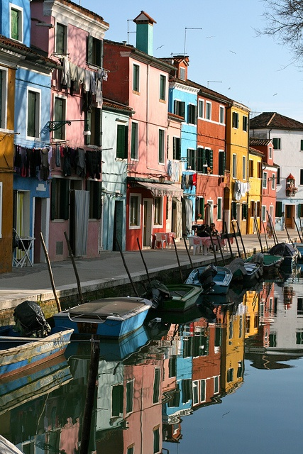 Burano, Italy ~ Small island North of Venice