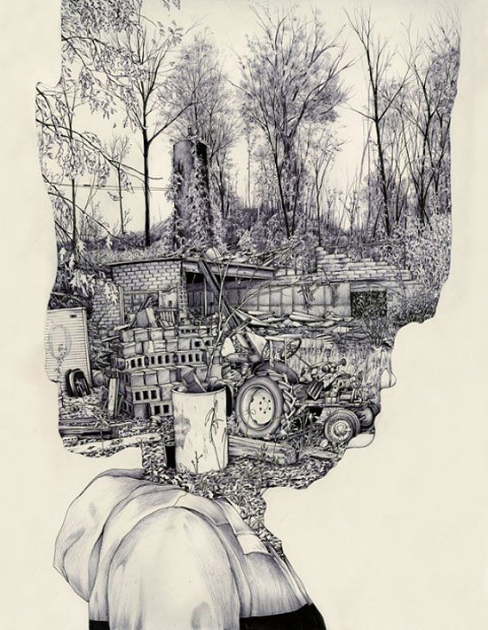 Great new work put out by Pat Perry, an artist and illustrator who calls Grand Rapids, Michigan home.