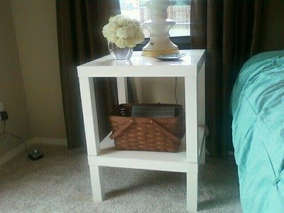 ikea hack (LACK to side table)