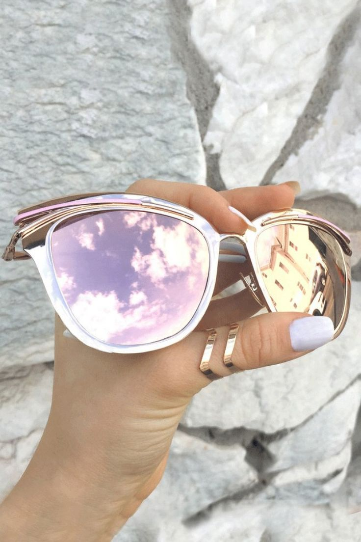 Park Art|My WordPress Blog_Mirrored Cat Eye Sunglasses Rose Gold