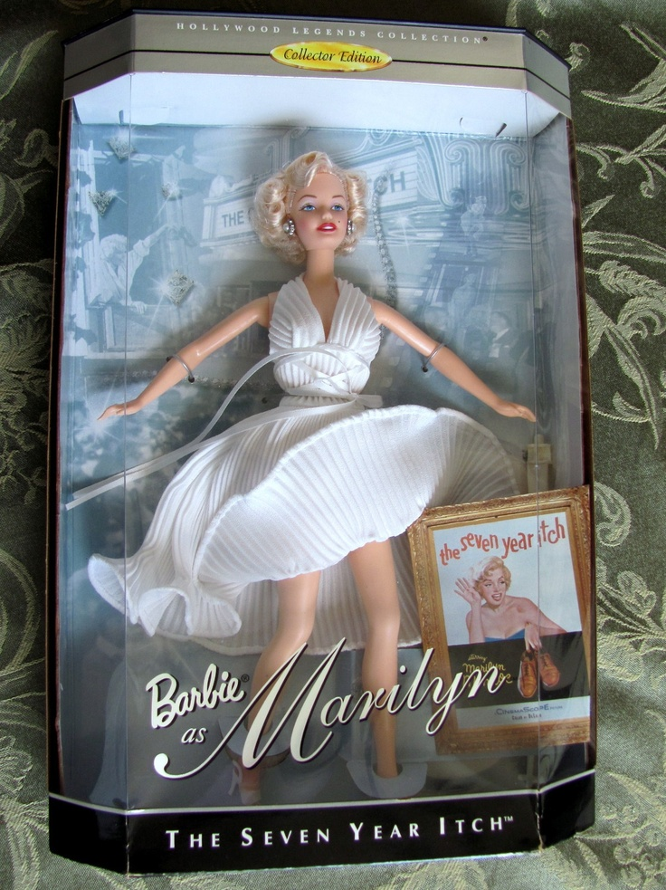 MARILYN MONROE BARBIE The Seven Year Itch - 1997 Hollywood Legends