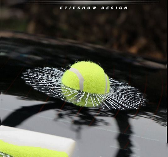 Prank Car Sticker Baseball Tennis Funny Creative Vehicle Window Who Did It??? Who Broke My Glass??? Prank Funny Gift Fit For Any Cars. Starting at $1