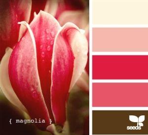 Magnolia colour scheme by Anlij