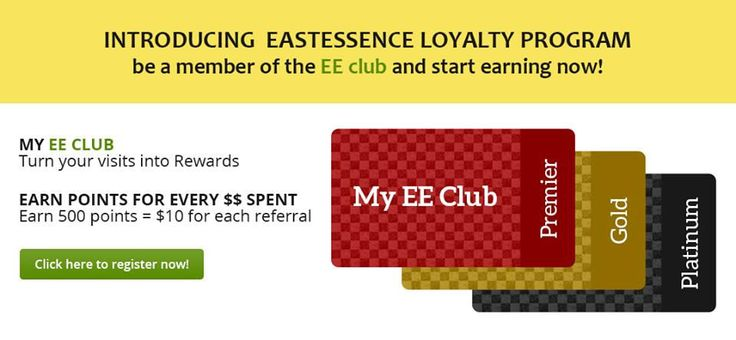 https://flic.kr/p/t2jfKU | EastEssence Loyalty Program | Start earning points with EastEssence for every dollar spend by you. Hurry!