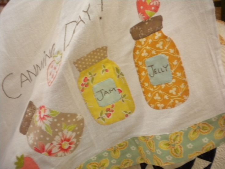 Mason Jars Kitchen Quilt