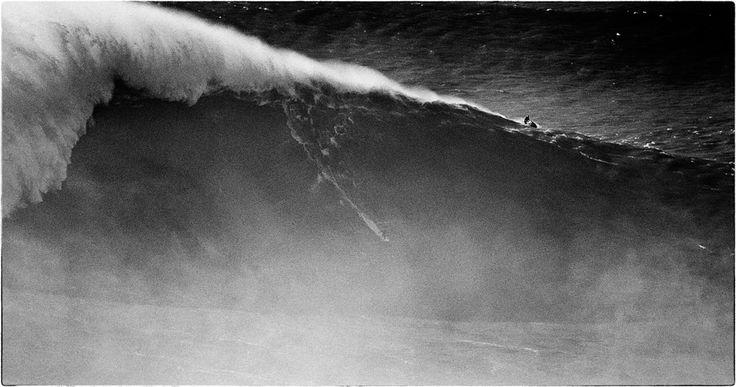 BIG WAVE [EXCLU] Sancho hier à Nazaré : la vague des 100 pieds ? from #SurfSessionMag