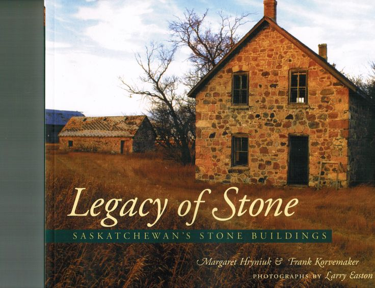 This book is an inventory of Stone Buildings in Saskatchewan, Well worth the read with wonderful photos.