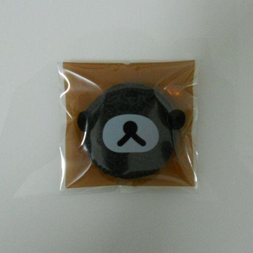 DHL Случае Бурый Медведь Самоклеющиеся Печать 7*7 см 4000 Шт./лот Печенье Пластиковая Упаковка Мешки Для Закуски Кекс выпечки Мешки для Упаковки