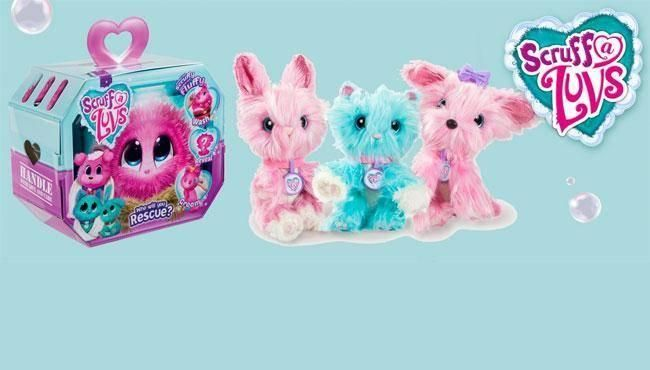 Toy Fair 2018: Moose Toys Unleashes Scruff-a-Luvs, and Little Live Pets Lil' Unicorn Pikmi Pops PushMi Ups