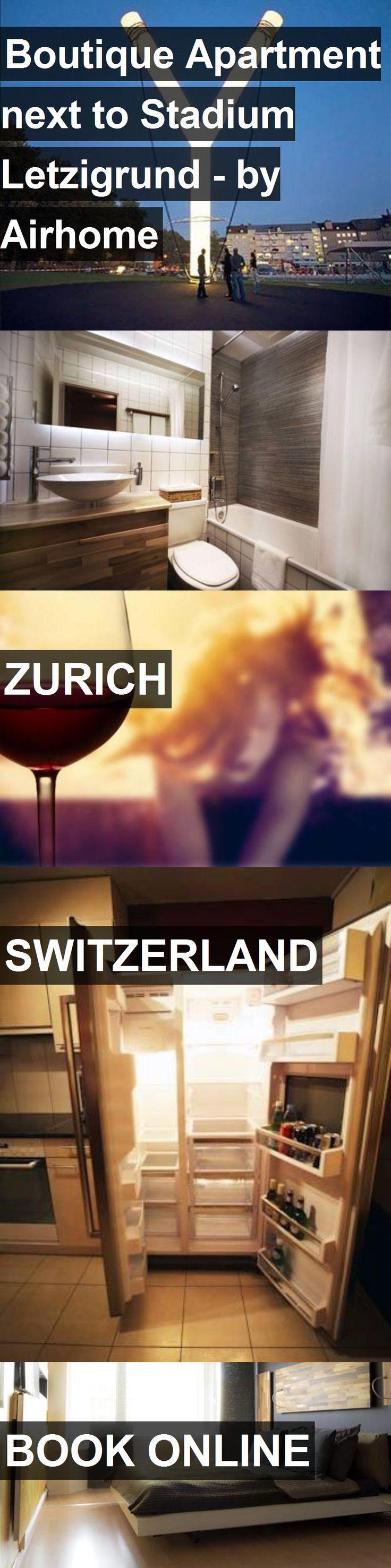 Boutique Apartment next to Stadium Letzigrund - by Airhome in Zurich, Switzerland. For more information, photos, reviews and best prices please follow the link. #Switzerland #Zurich #travel #vacation #apartment