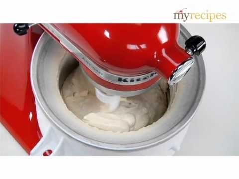 Using your KitchenAid Ice Cream Maker - YouTube