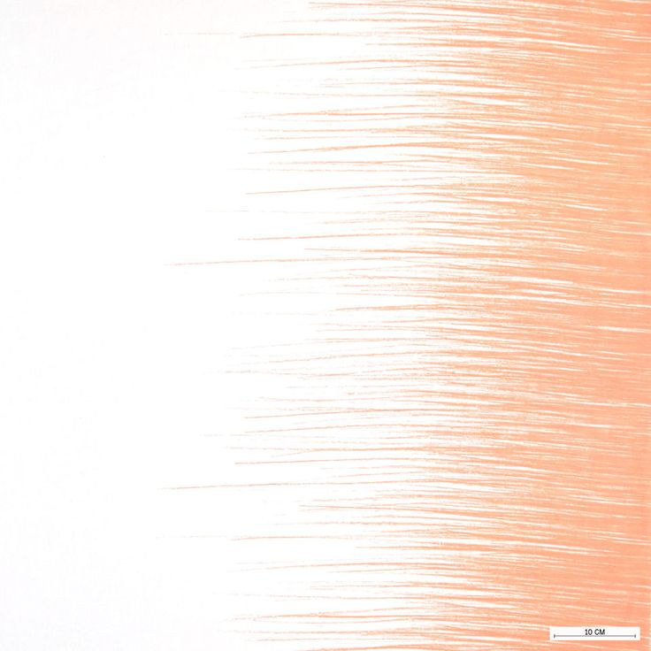 815728 Vævet hvid m melon farve striber i siden