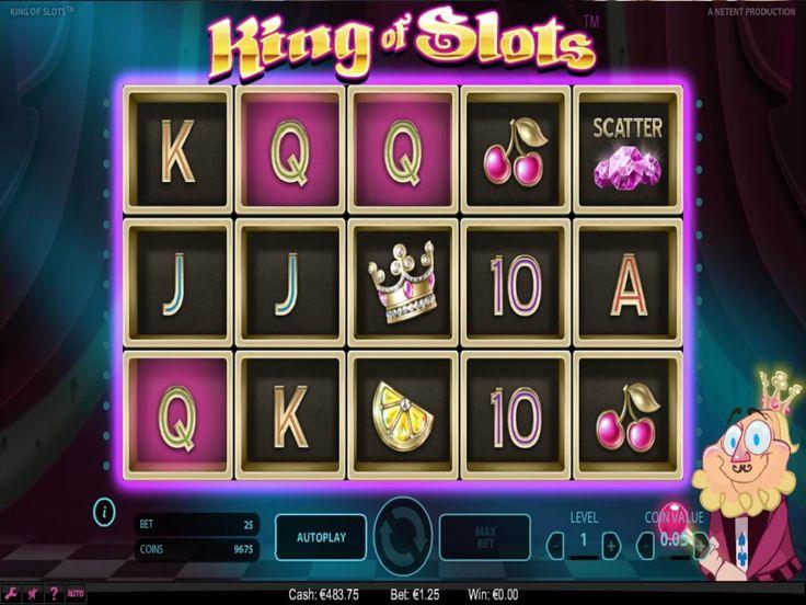Výherní automat King of slots