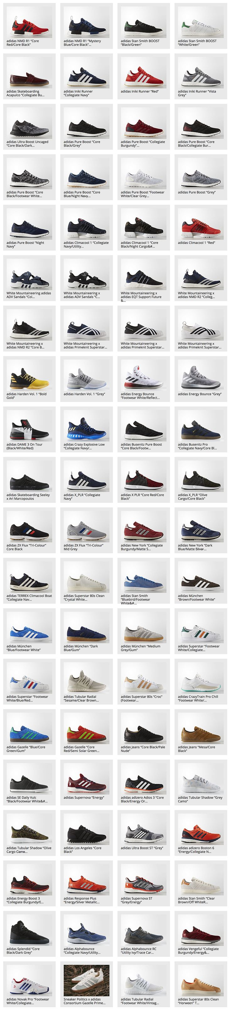 80 adidas Sneakers That Released for the 9th Week of 2017 - EU Kicks: Sneaker Magazine