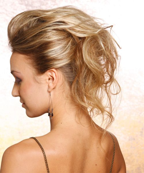 casual updo hairstyles