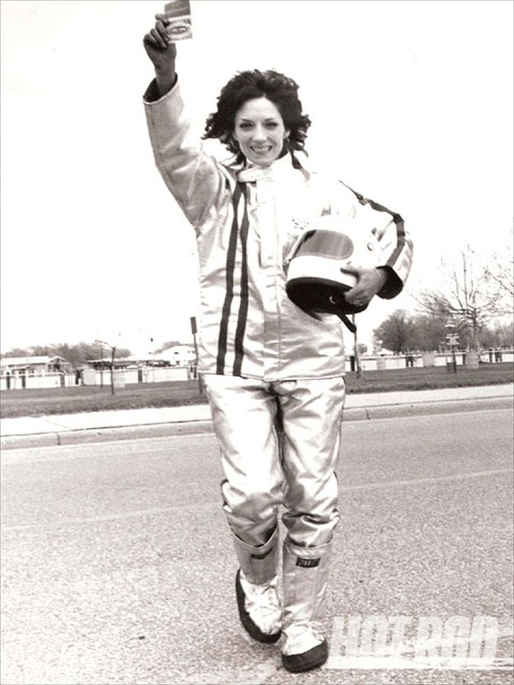 "Shirley Muldowney The first woman to be licensed by the National Hot Rod Association and the first to drive a top fuel dragster, Muldowney is known as the ""First Lady of Drag Racing"""