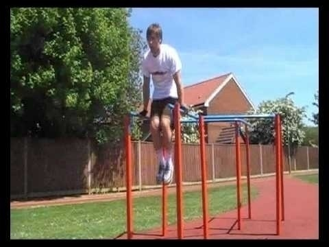 10 Abs Exercises Using Dip Bars -- perfect for getting six pack abs. exercises-for-getting-your-six-pack-abs exercises-for-getting-your-six-pack-abs workout six-pack-abs abs six-pack-abs abs fitness workout: Dip Bars, Abs Exercises, Ab Exercises, 10 Abs, Six Packs, Six Pack Abs Abs, Fitness Workout, Dips
