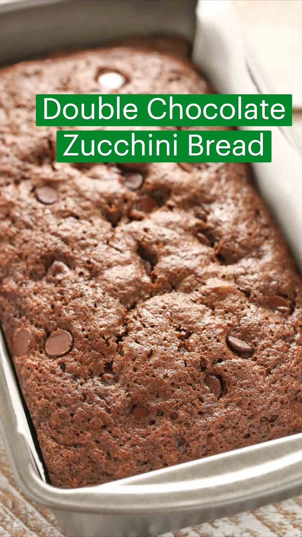 Chocolate Zucchini Bread, Zucchini Bread Recipes, Bakery Recipes, Dessert Recipes, Cooking Recipes, Delicious Desserts, Yummy Food, Food Porn, Dessert Bread