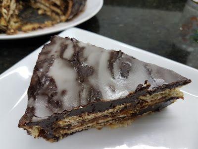 Cocina Basica y Fresca: TARTA DE CHOCOLATE SIN HORNO CBF@