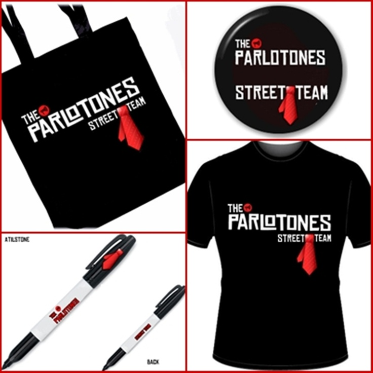 The Parlotones Street team designs